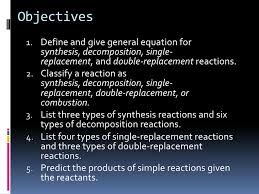 chapter 8 2 types of chemical reactions