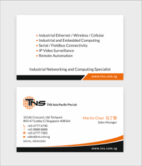Networking Business Card Examples 288 Elegant Modern Information Technology Business Card Designs
