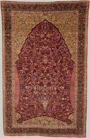 Pashmina Carpet With Gateway And Millefleur Pattern Work Of Art