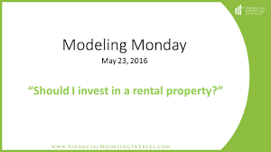 Rental Property Calculator Spreadsheet Financial Modeling In Excel Should I Invest In A Rental Property