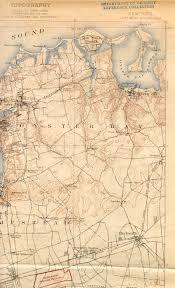 Map Of Old New York by Hempstead Ny Quadrangle