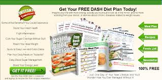 download free dash diet cookbook with weekly meal plan
