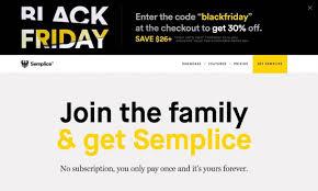 best secret black friday deals semplice for wordpress designers best kept secret