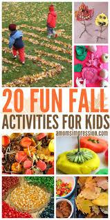 546 best seasonal fall kids u0027 activities images on pinterest