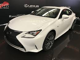 lexus is f sport 2017 pre owned 2017 lexus rc 350 demo unit f sport series 2 2 door