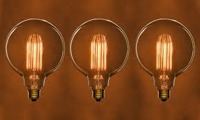 antique style filament light bulbs 6 pack groupon