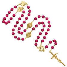 petal rosary petal rosary metal savelli religious