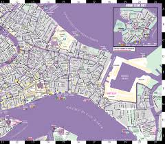Venice Map Streetwise Venice Map Laminated City Center Street Map Of Venice