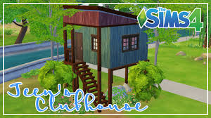 teen u0027s clubhouse playhouse build the sims 4 youtube