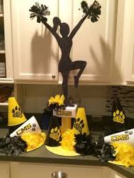 centerpieces for 2014 tchs titan cheer banquet tchs projects