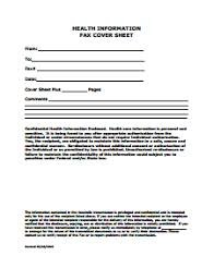 confidential fax cover sheet template download create edit