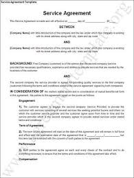 training services agreement template