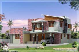 kerala home design courtyard 2300 sq feet modern 4 bedroom villa elevation kerala house