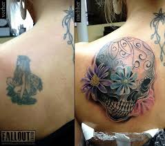 7 skull cover up tattoos