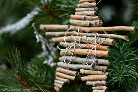 twig and wire ornaments make it and it