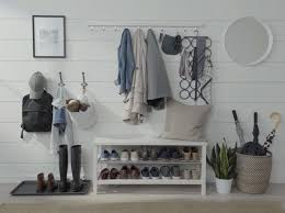 ikea cubby bench bench entryway organizer ideas bookshelf bench ikea hall tree with