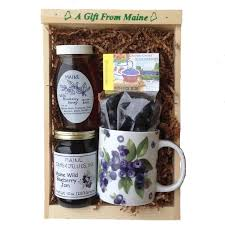 maine gift baskets maine gift basket blueberry maine gift set