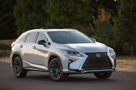 lexus motor yamaha the 2016 lexus rx 350 f sport is cohesive insanity review