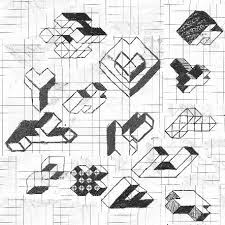 trent howell axonometric sketch more dimensions