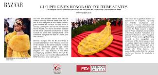 chambre syndicale de la couture site officiel fidé press coverage