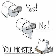 rules of toilet paper u2026 pinteres u2026