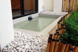 Outdoor Shower Mirror - outdoor bathroom by pool built in white wooden storage ideas