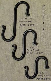 Wrought Iron Curtain Rings Wrought Iron Hardware