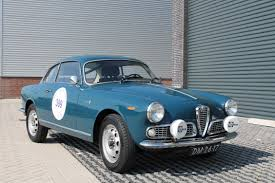 alfa romeo giulia 1600 sprint 1962 bluette alfa romeo