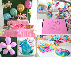 trolls party ideas birthday in a box