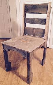 how to make dining room chairs diy pallet dining chair pallet furniture plans