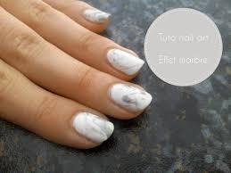 deco ongle en gel noir et blanc tuto nail art effet marbre youtube