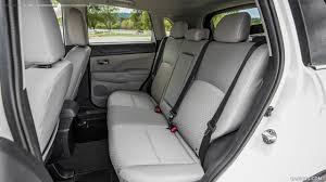 mitsubishi sport interior 2016 mitsubishi outlander sport sel interior rear seats hd