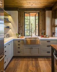 spot dans cuisine suspension conique fantaisie meuble haut de cuisine en bois gris