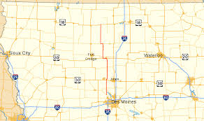 Map Of Des Moines Iowa Iowa Highway 17 Wikipedia