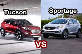lexus rc tucson 2016 hyundai tucson vs 2015 kia sportage design youtube