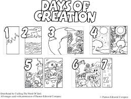 free sunday school coloring pages sunday school coloring pages creation days of creation coloring
