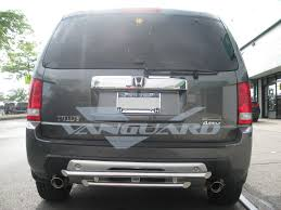 2006 honda pilot rear bumper rear bumper guard in hitch design s s auto vanguard