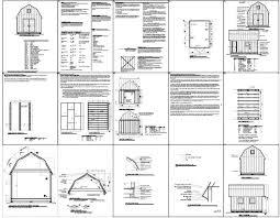 Gambrel Roof Barn Plans Gambrel Barn U2013 Barn Plans Vip