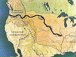 bitterroot mountains map pbs the the lewis and clark expedition