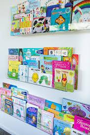 amazon com twice as thick floating bookshelf for kids