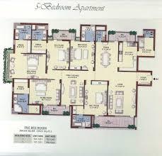 5 Bedroom Apartment Floor Plans Floor Plans Of Vipul Belmonte In Gurgaon New Residential Projects