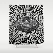 Science Shower Curtains Society6 The 25 Best Aztec Society Ideas On Pinterest Aztec Room