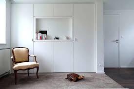 chambre avec placard chambre avec placard placard mural sur mesure blanc avec niche