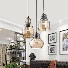 3 Light Pendants Pendant Lighting You Ll Wayfair