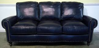 Modern Leather Sleeper Sofa Sofa Sofa Set Blue Tufted Sectional Sofa Soft Leather Sofa