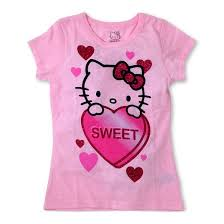 girls u0027 kitty shirt pink target