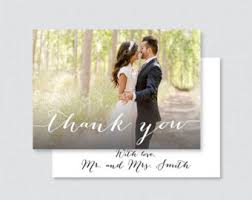 personalized thank you cards custom thank you etsy