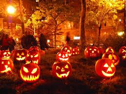 jack o lanterns halloween 4k wallpaper free 4k wallpaper