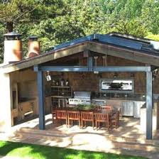 Outside Kitchen Design Outdoor Kitchen Design Ideas And Pictures Outdoor Kitchens In