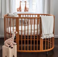 baby bed crib 16 beautiful oval round cribs for unique nursery
